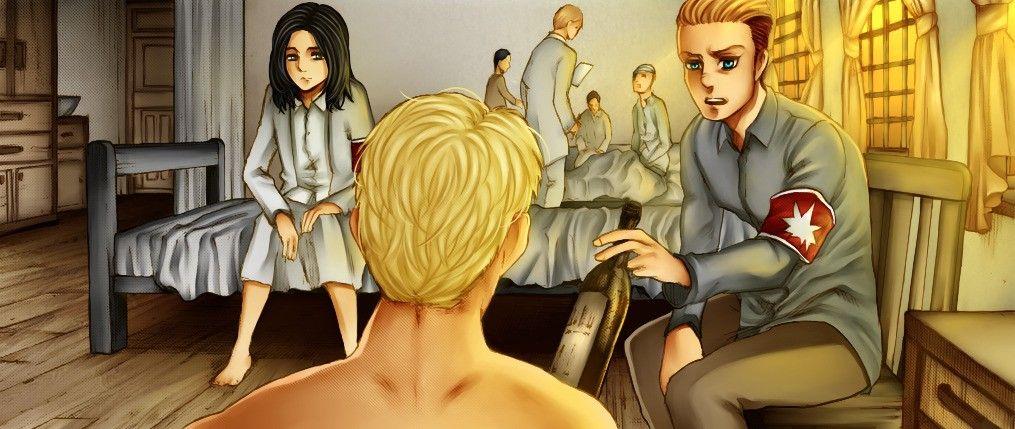 Reiner, Porco & Pieck // Snk // Chapter 107 | Attack on titan, Shingeki no kyojin, Princess zelda