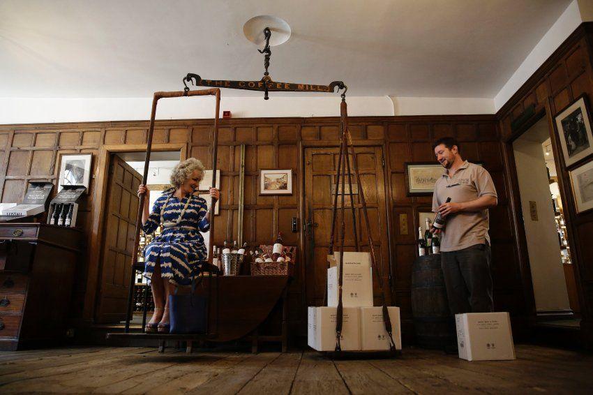 Weinwaage: Seit der Eröffnung der Wein- und Spirituosenhandlung Berry Bros. &...