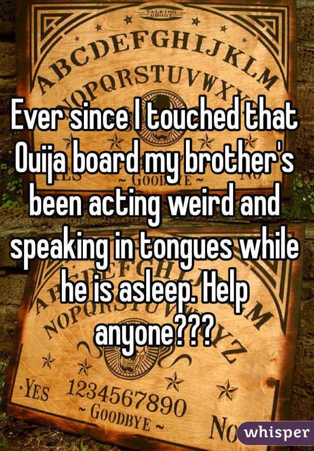 Ouija Regeln