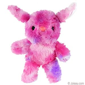 Plush tie dyed bunnies with button eyes button noses and soft with button eyes button noses and soft crazy multicolored fur these will delight any stuffed animal collector perfect for easter gifts negle Images