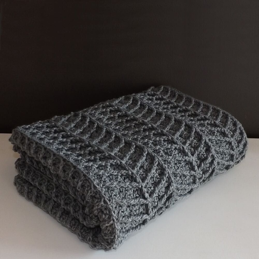 With clean lines and a thick cozy feel this modern crochet blanket with clean lines and a thick cozy feel this modern crochet blanket would make a great addition to any home hayden chevron crochet blanket find the on etsy bankloansurffo Image collections