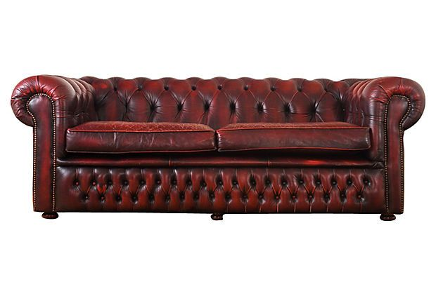 Superb Vintage Red Leather Chesterfield Sofa From Our Personal Bralicious Painted Fabric Chair Ideas Braliciousco