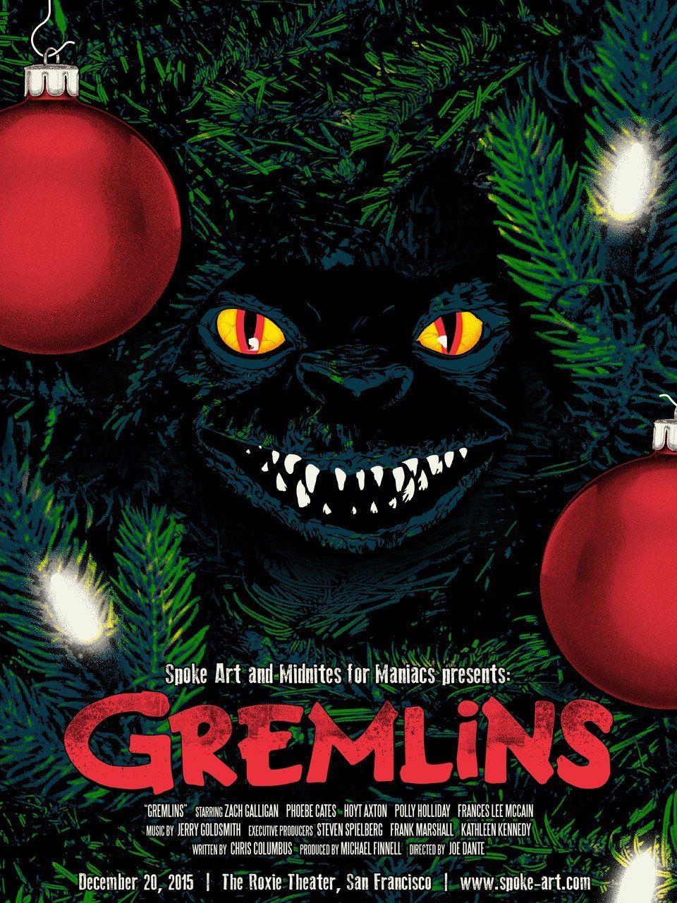 Joshua Budich Gremlins Gremlins Art Screen Print Poster