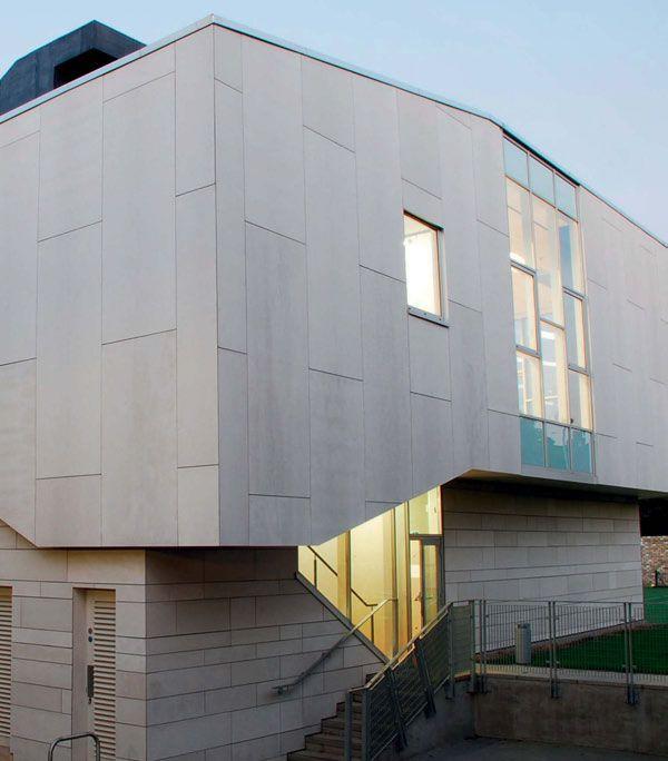 Fibre cement cladding facade white google search fiber - Exterior wall materials philippines ...