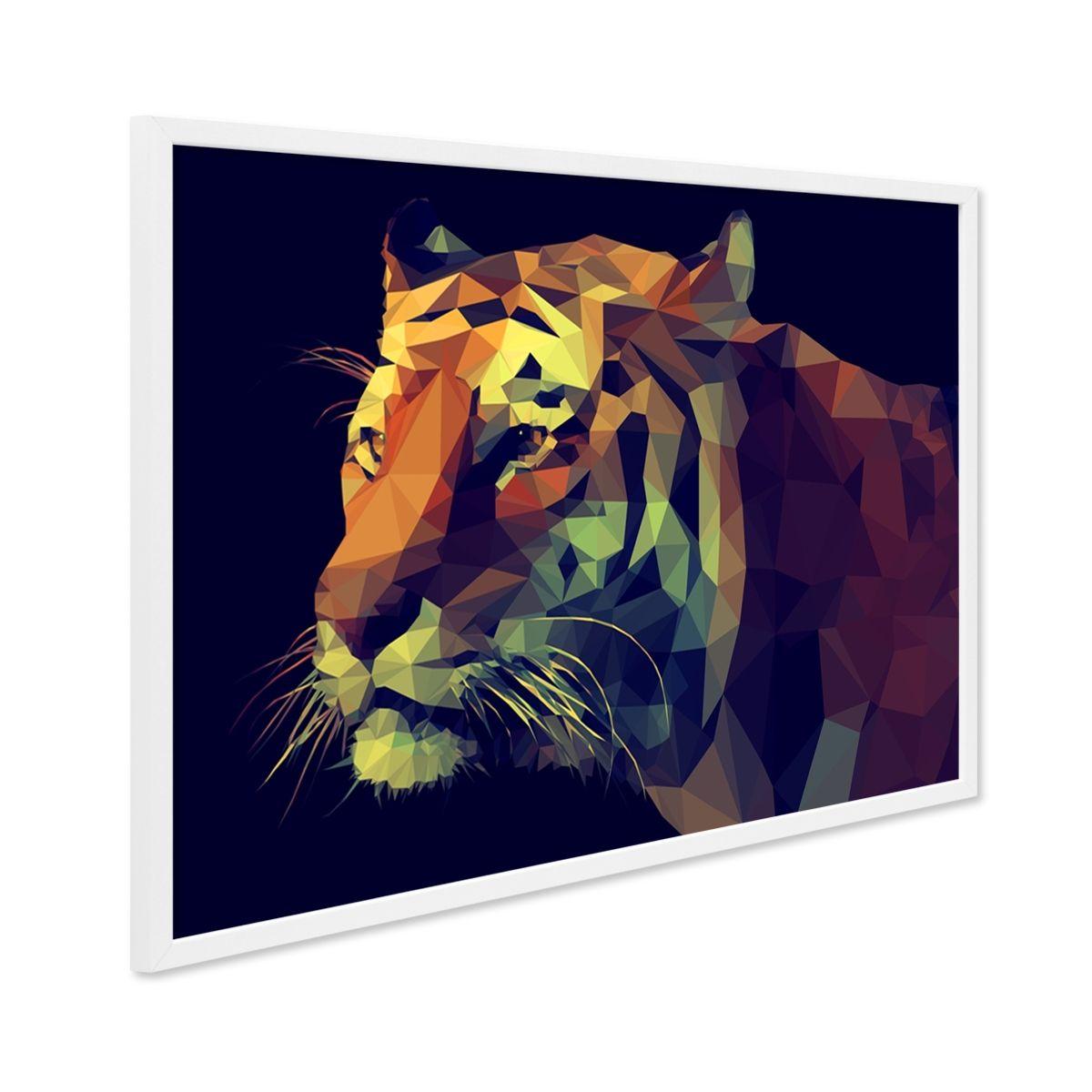 Design-Poster \'Tiger\' 30x40 cm Motiv Abstrakt #poster #frame ...