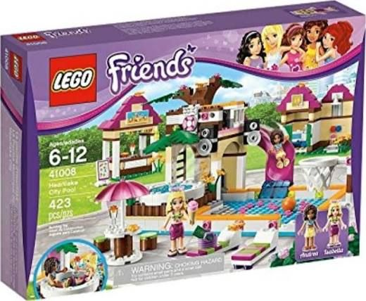 LEGO Friends Girls Heartlake City Swimming Pool Minifigures 41008 ...