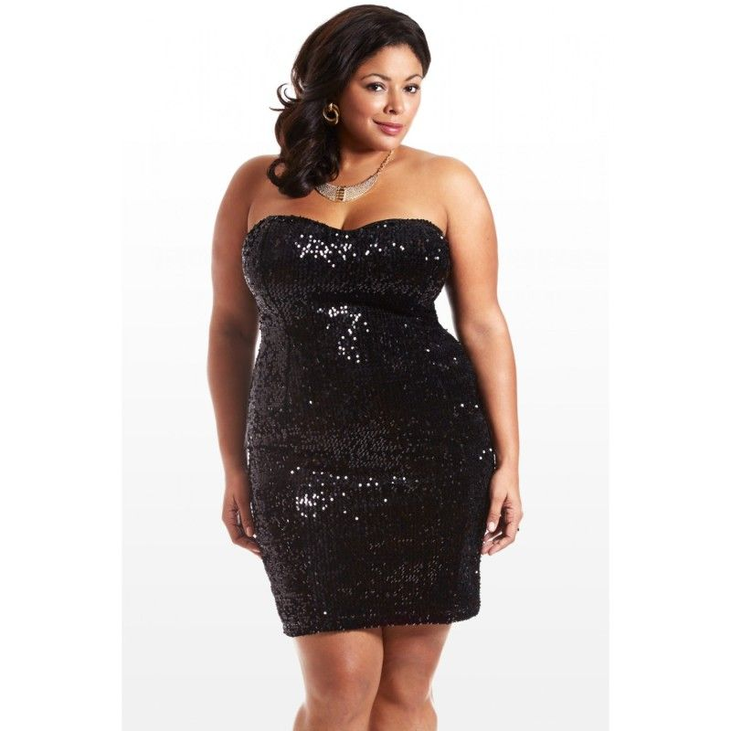 Gotta Have It: Fashion to Figure Plus Size Sequin Dress | Sequin ...