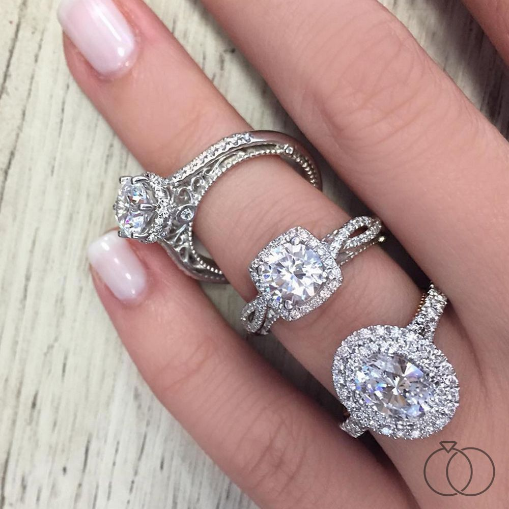The hardest part is going to be deciding which Verragio diamond ...