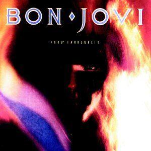 Amazon Com 7800 Degrees Fahrenheit Music Bon Jovi Album Bon Jovi Rock Album Covers