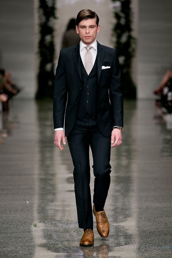 Crane Brothers 2013 Collection Groom Suit Inspiration W
