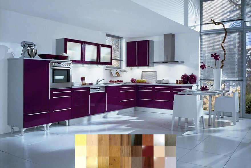 Cheap Kitchen Cabinet Add Ons You Can Diy And Diy Kitchen Under Cabinet Lighting Floors Purple Kitchen Purple Kitchen Cabinets Purple Kitchen Designs