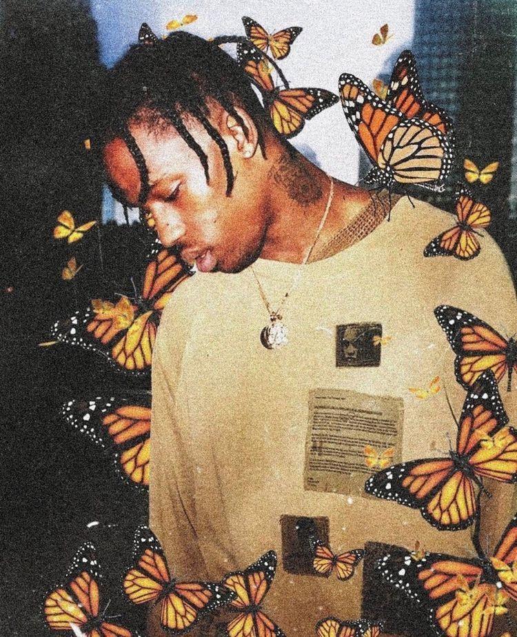 Butterfly Effect Travis Scott Trippy Wallpaper