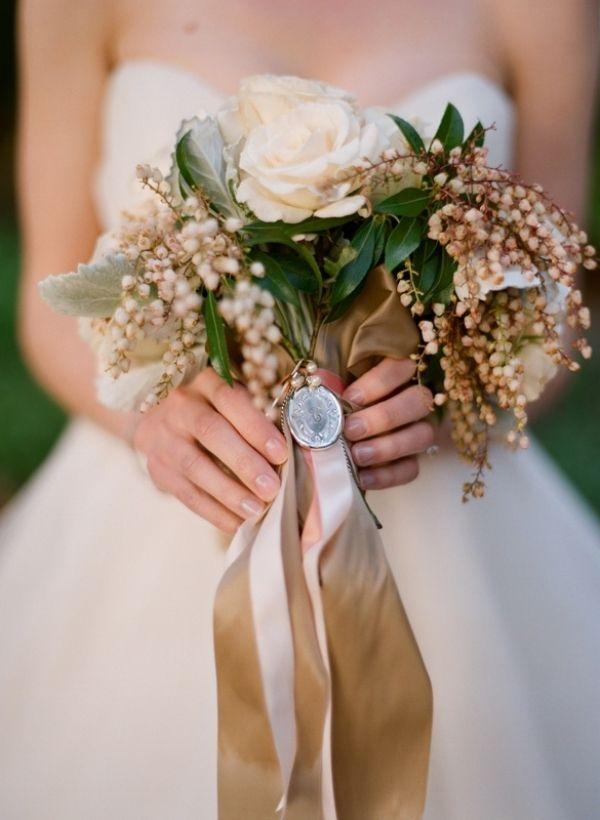 Jesienny Bukiet Slubny Beautiful Bridal Bouquet Fall Wedding Colors Beige Wedding