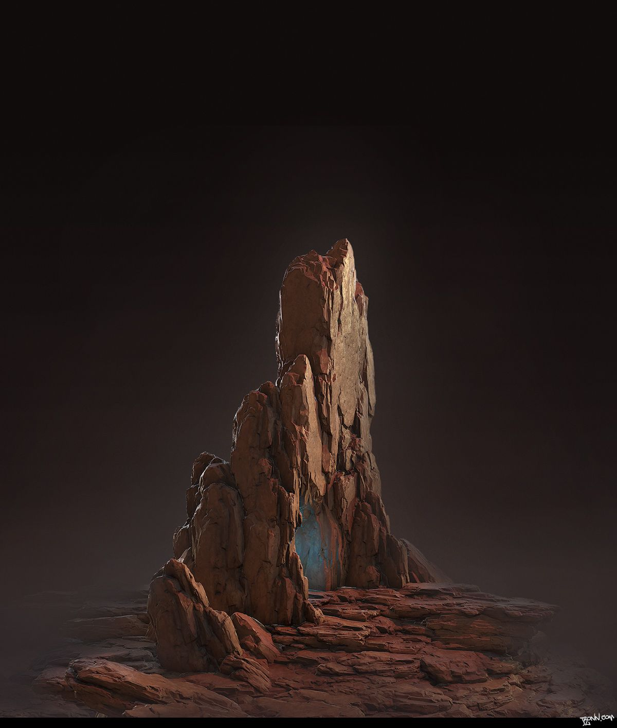 Red Rocks [Realtime] on Behance