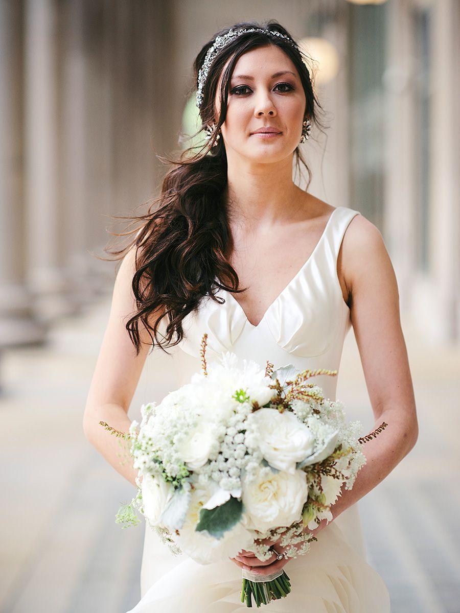 17 sideswept wedding hairstyles for long hair | hair