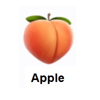 Meaning Of Peach Emoji In 2020 Peach Emoji Fruit