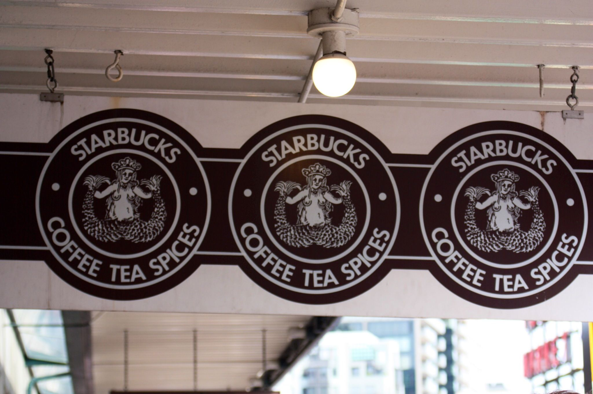 The very first Starbucks. Pike Place Market, Seattle Washington. ☕