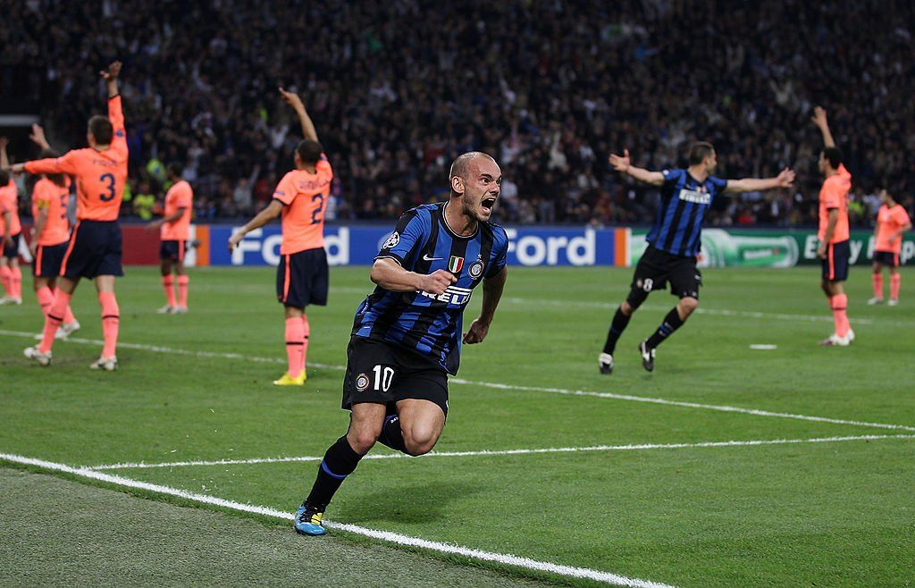 On this day in 2010 10-man Inter famously beat Barca in the UCL semi-finals