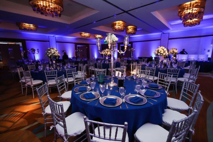 Reception Setup Ideas Google Search Blue Wedding Receptions Luxury Beach House Orange County Wedding Venues