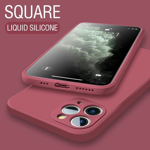 Original Bakeey Liquid Silicone Soft Phone Case for iPhone