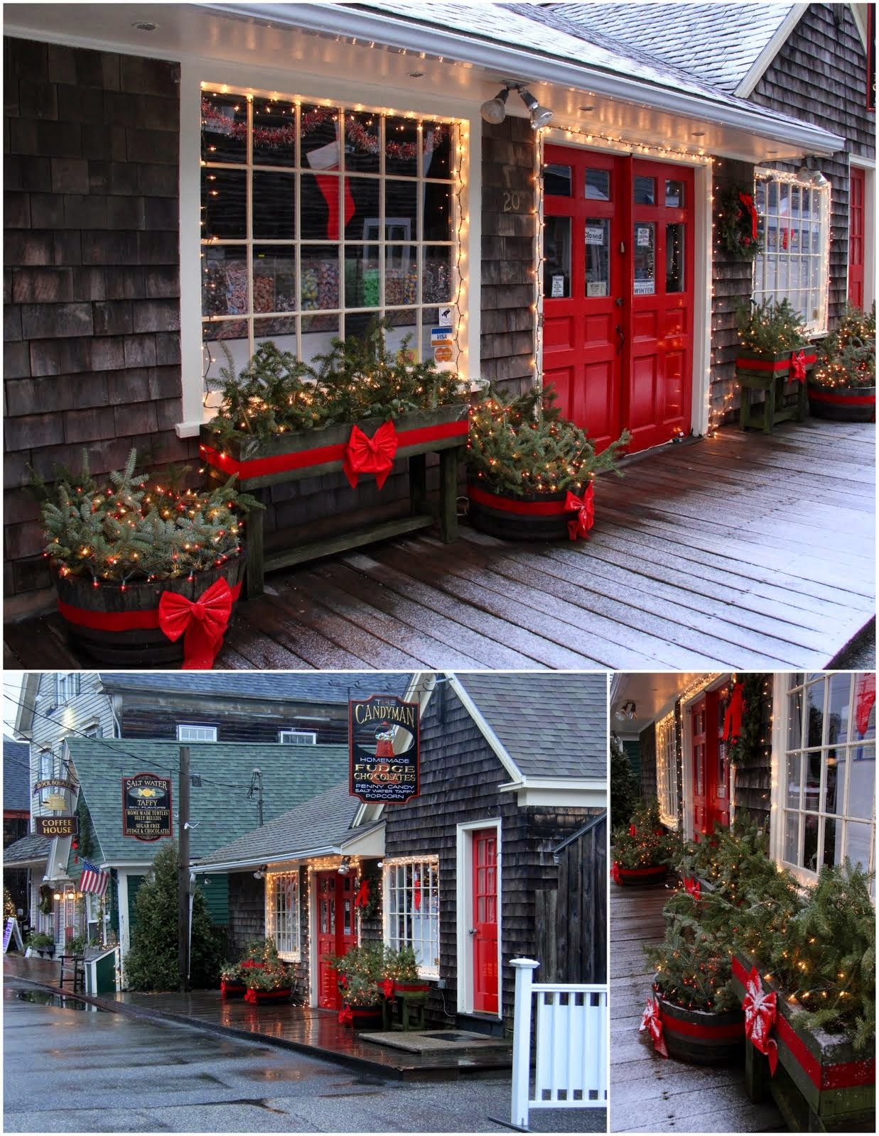 Kennebunkport, Maine Aiken House & Gardens: Christmas by the Sea ...