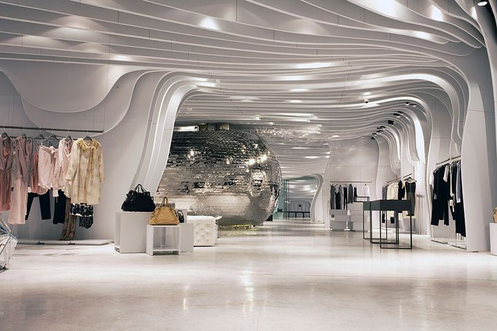 Interior Design Stores outstanding interior design - runway storecls architetti