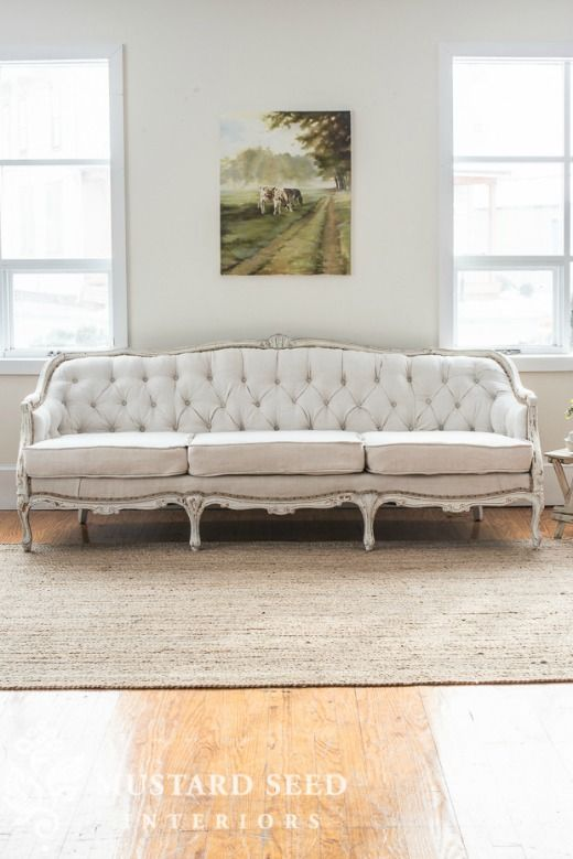 Country French Style Sofa French Style Sofa Victorian Sofa