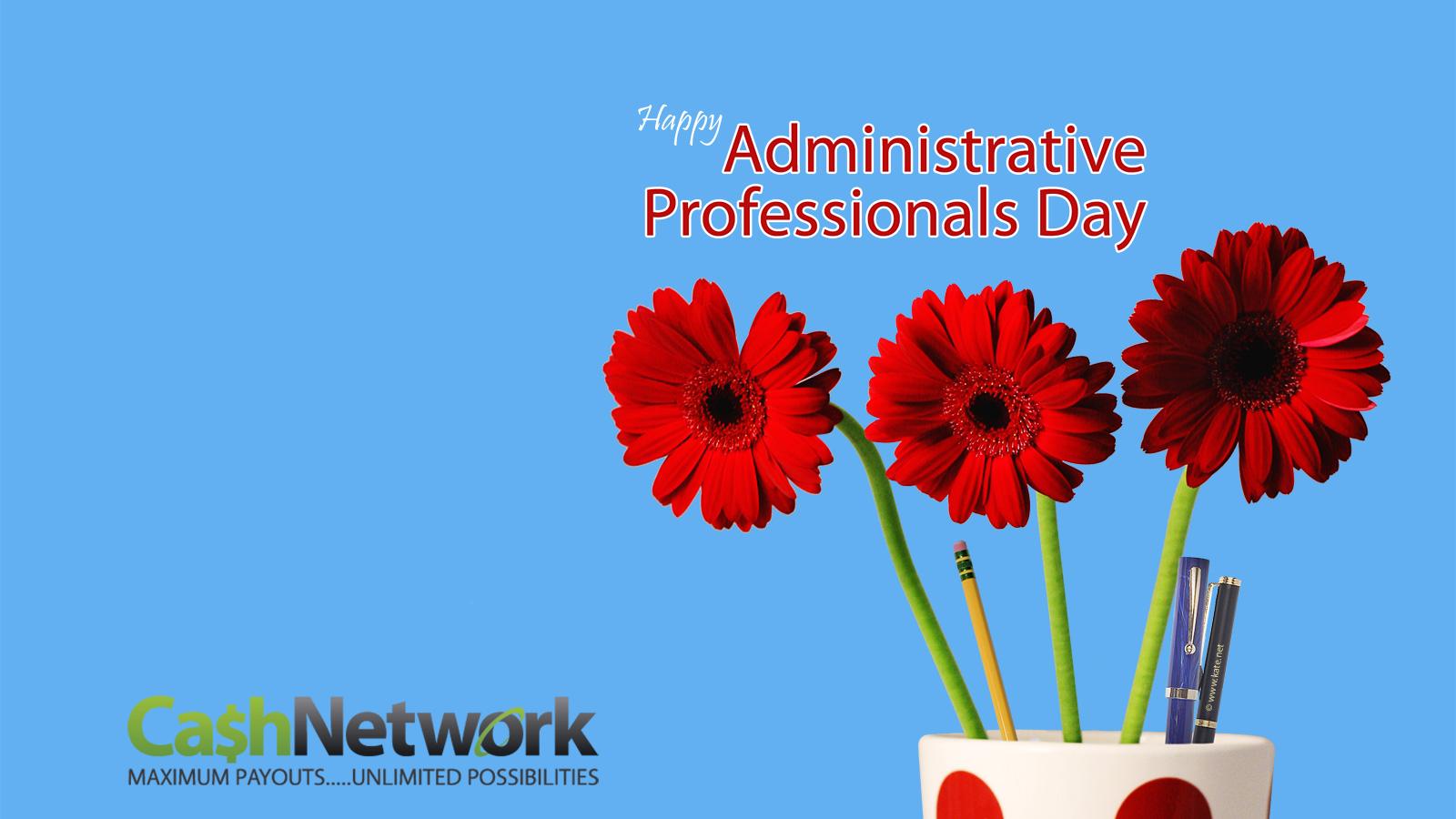 Cash Network Llc Administrative Professional Day Administrative Professional Administrative Assistant Day