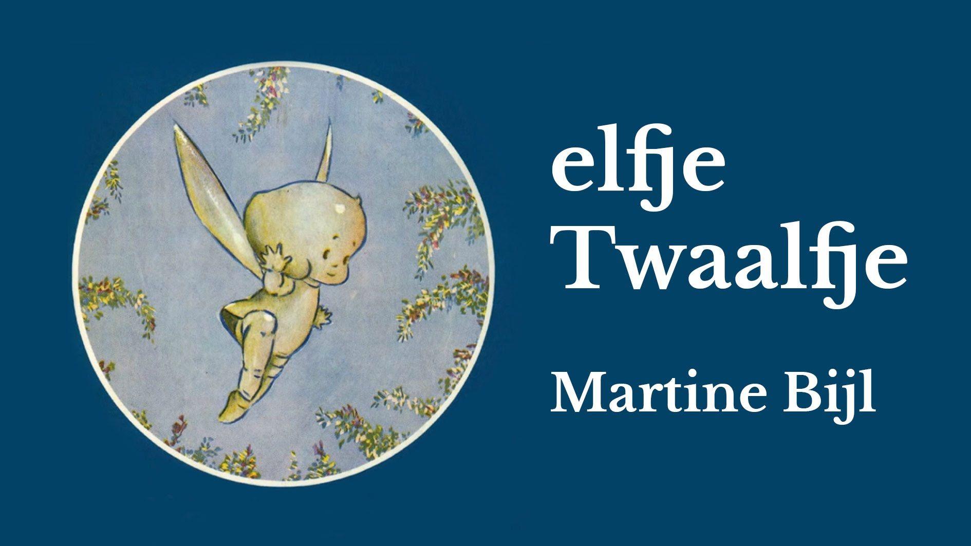 Elfje Twaalfje Martine Bijl Elfen Thema Sprookjes