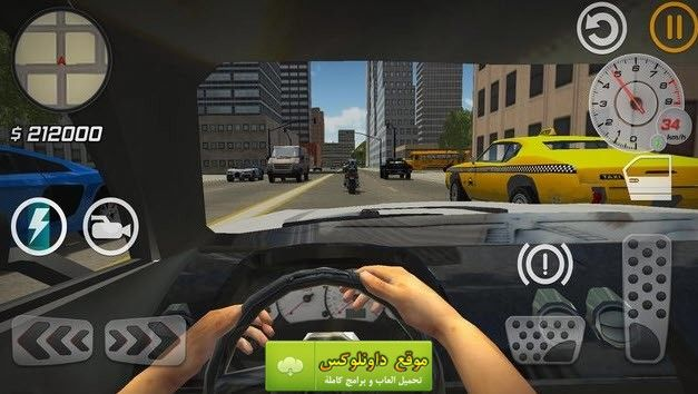 تحميل لعبة محاكاة السيارات للاندرويد و للايفون تنزيل City Car Driver العاب ايفون العاب للاندرويد City Car Driver تحميل لعبة محاكا City Car Games Offline Games