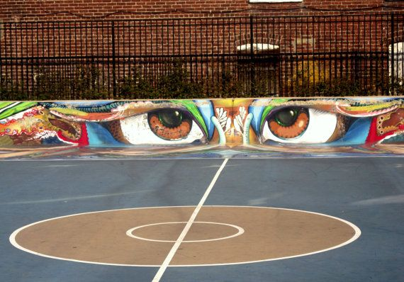 Basketball Court Graffiti Digital Download Photography Etsy In 2021 Urban Street Art Street Basketball Basketball Court