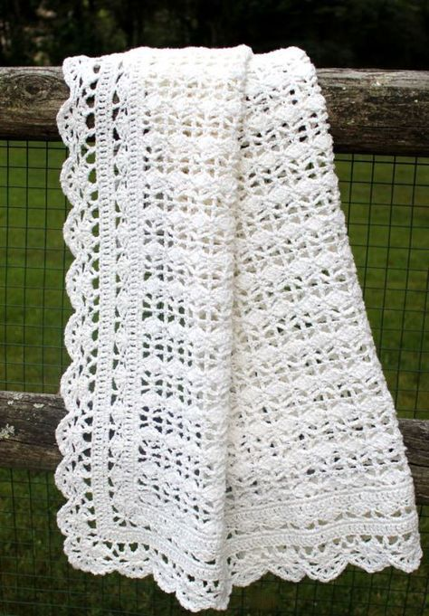 This is my favorite baby afghan pattern. It crochets fast, and it is ...