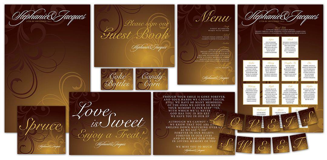 Madeline\'s Weddings & Events Custom Stationery - Wedding ...