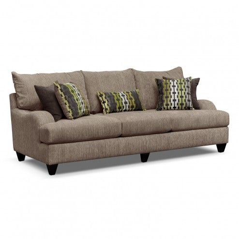 Furniture lovely santa monica 3 seater beige grey for Grey corduroy sofa