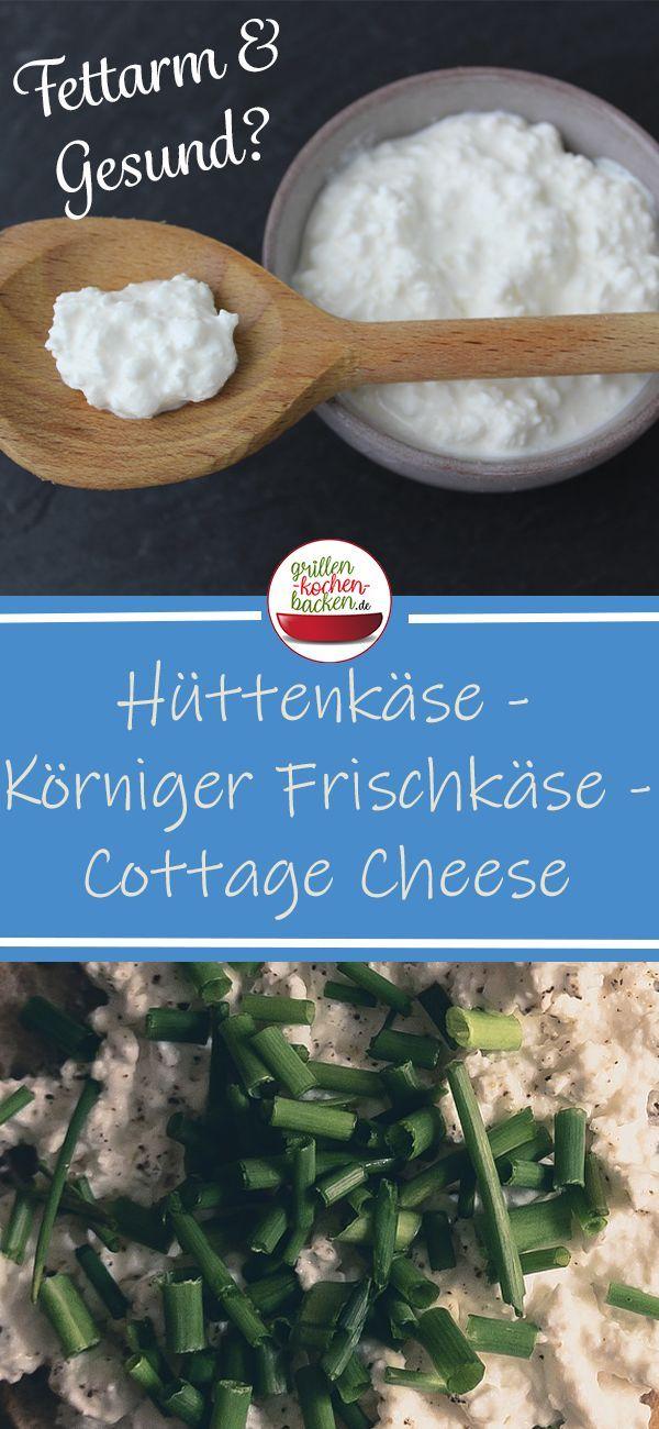 Hüttenkäse - Körniger Frischkäse selber machen