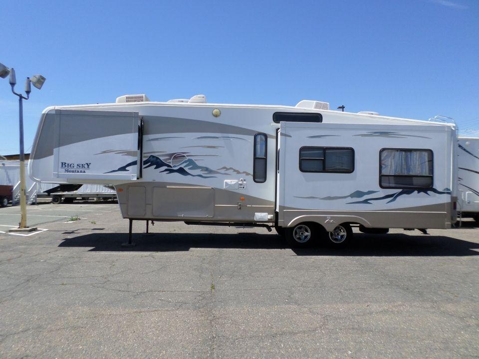 2003 Keystone Montana Big Sky 5th Wheel 5th Wheels 5th Wheels