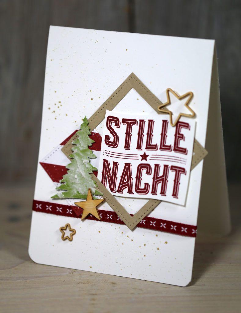 Freitagsvideo/Wie ein Weihnachtslied - Kreativ mit Stampin\' Up ...