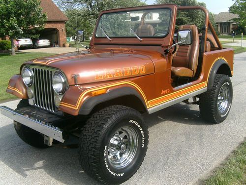 1982 Jeep Cj7 Laredo Copper Metallic Nutmeg Jeep Cj7 Jeep Cj7