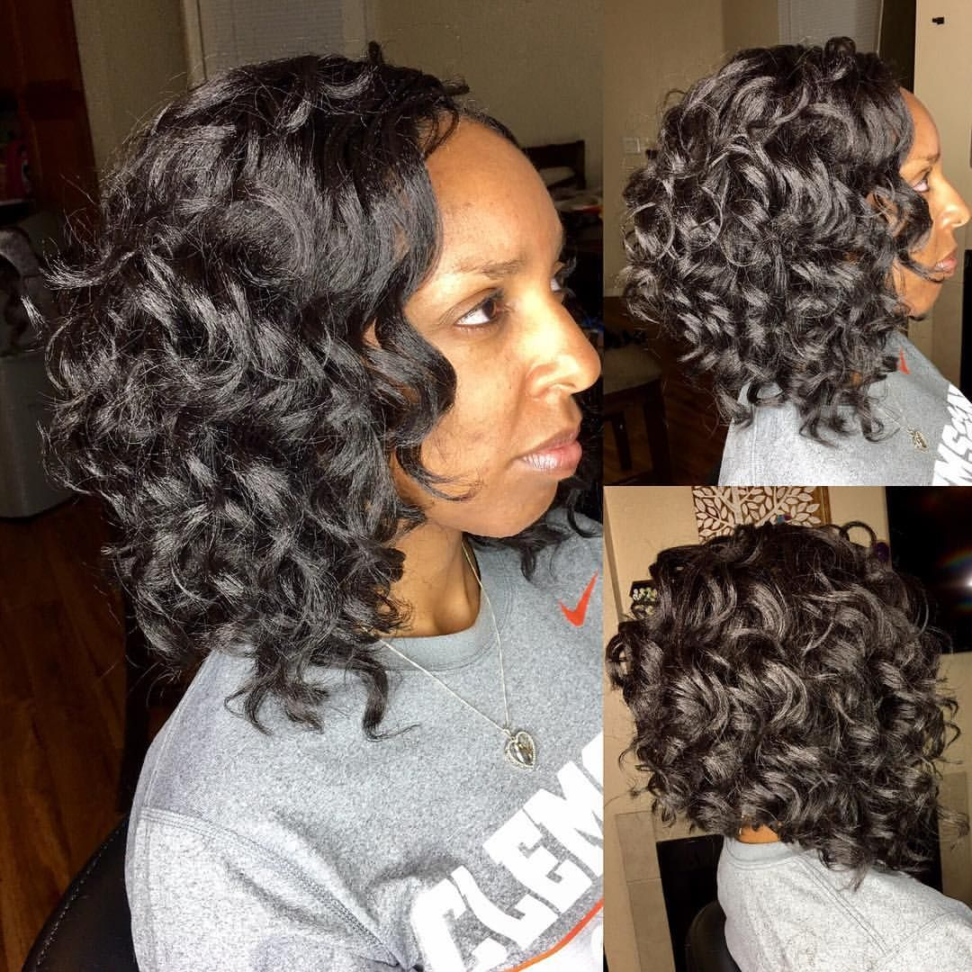 Loving This Crochet Bob This Look Was Achieved Using 2 Bags Of