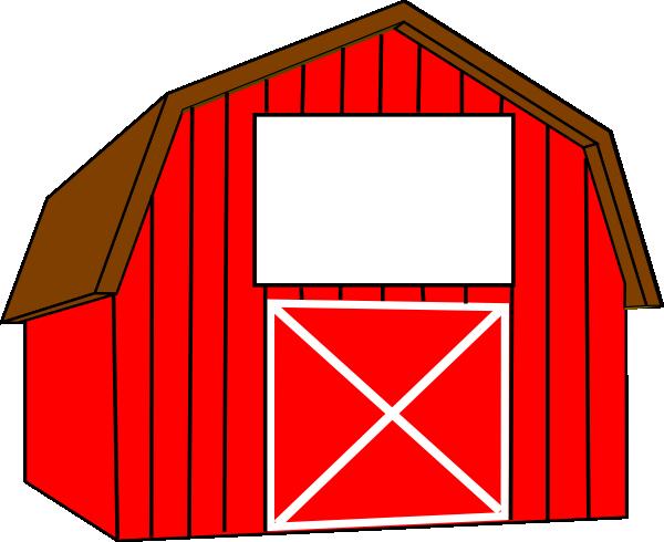 barn clip art free red white barn clip art booster club rh pinterest co uk free cartoon barn clipart free old barn clipart