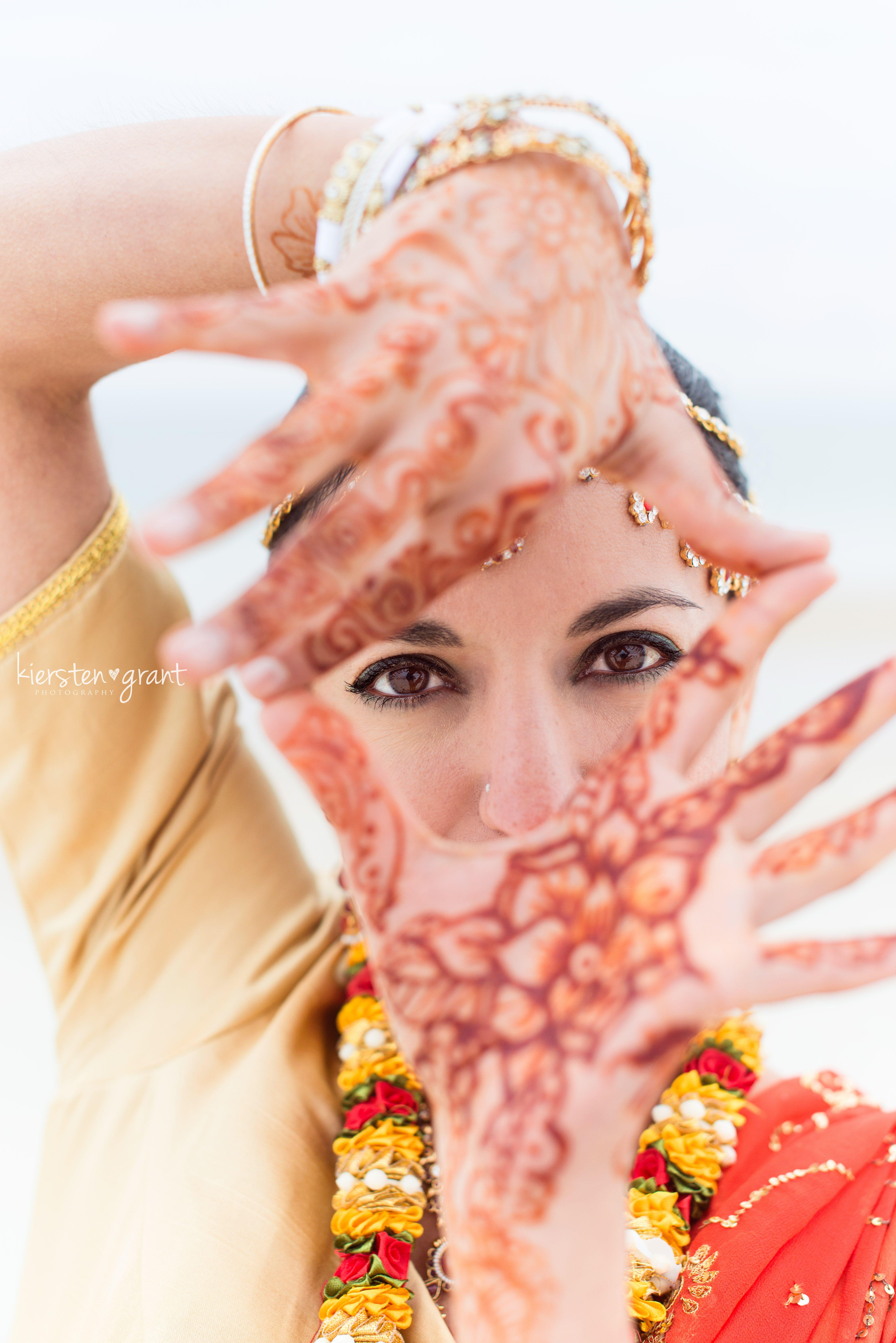 Indian wedding kiersten grant photography henna