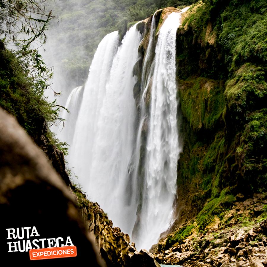 Con 105 metros de altura la Cascada de Tamul se vuelve las más espectacular en la #HuastecaPotosina.  #WeLoveAdventure  www.rutahuasteca.com  01.800.543.7746 WhatsApp: 481.116.5900 email: info@rutahuasteca.com #RutaHuasteca #SLP #Ecoturismo #TurismoDeNaturaleza #VisitMexico #Tours #TodoIncluido