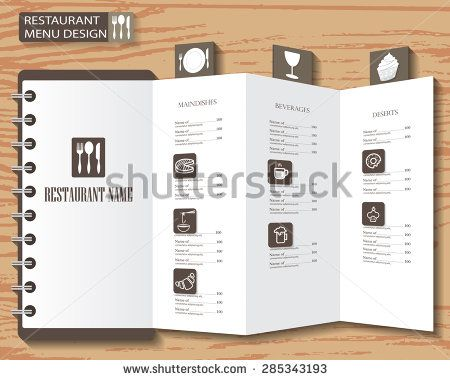 Restaurant Menu Infographics Background And Elements Design Can