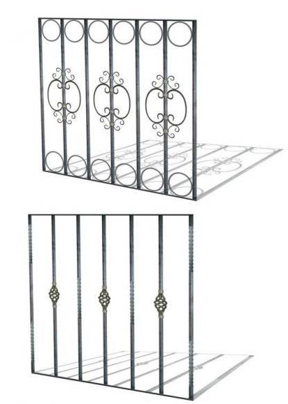 Protecciones para ventanas hierro forjado pueblo rejas - Rejas de hierro forjado ...