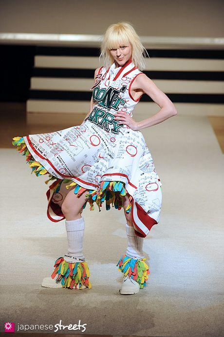 Bunka Fashion Graduate University Fashion Week Shibuya Japan Fashion Street Fashion Kawaii Fashion