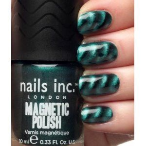 magnetic nail polish. how impractical this would be if you wanted to re-fill a stapler...
