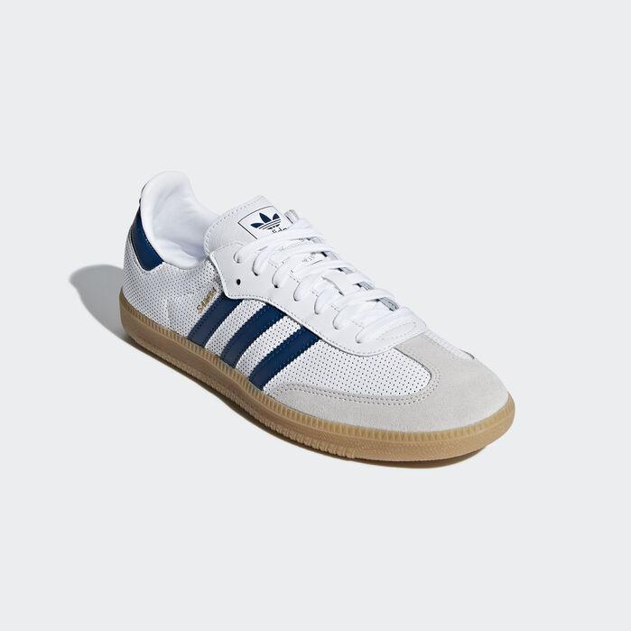 Adidas Men's Samba OG Shoe Cloud WhiteCollegiate BurgundyGrey