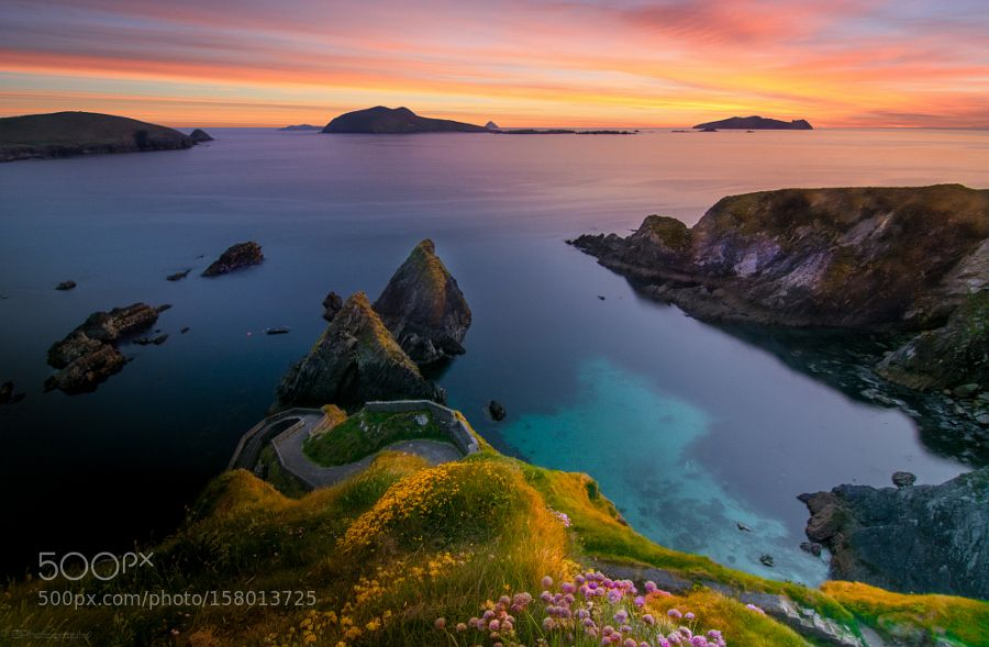 Dunquin Pier by Peter_Brunner. Please Like http://fb.me/go4photos and Follow @go4fotos Thank You. :-)