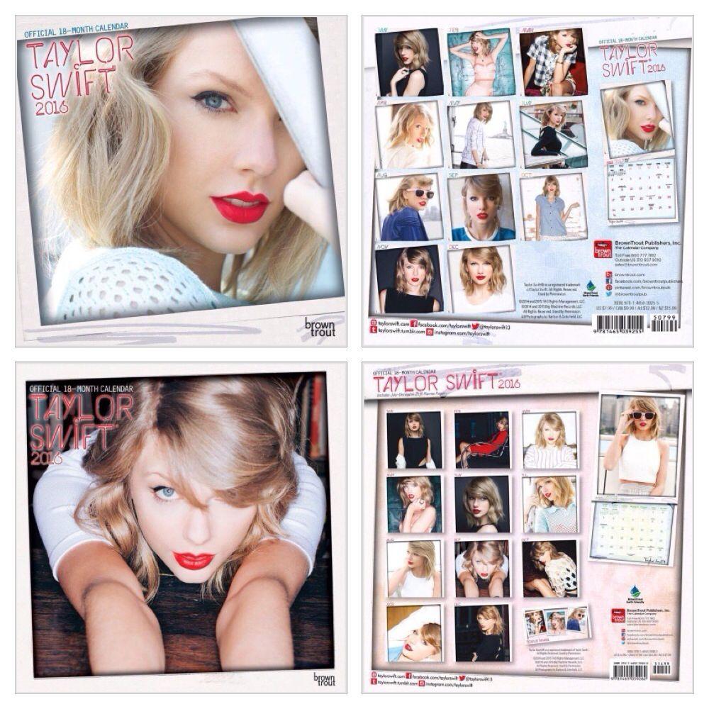 Taylor Swift 2015 2016 Calendars Taylor Swift Merchandise Taylor Swift Taylor Swift New