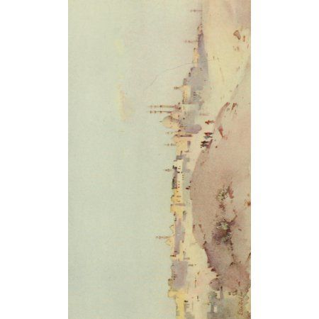 The Banks of the Nile 1913 The Citadel Canvas Art - Ella du Cane (24 x 36)